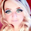 coloured eyeshadow