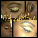 yellow cut crease