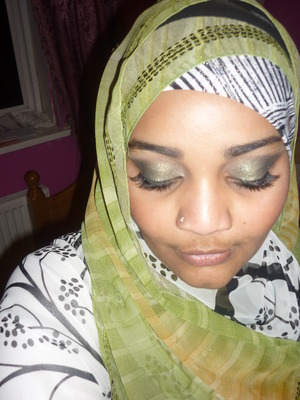 Forest Inspire - excuse the dry lips and mustache-y LOL i was tired back from a wedding -_-  <3