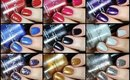 Kbshimmer Holiday Collection Live Swatch + Review!