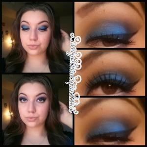 Love love LOVE this blue eyeshadow!