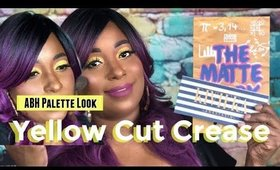 Yellow Cut Crease ABH Palette Look | ABH Rivera & Prism Palette Crayon Case || Vicariously Me