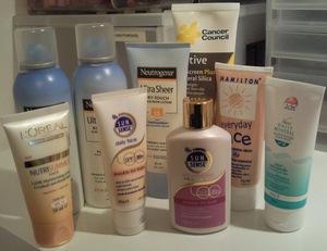 Oil-Free or Non-Oily Sunscreens