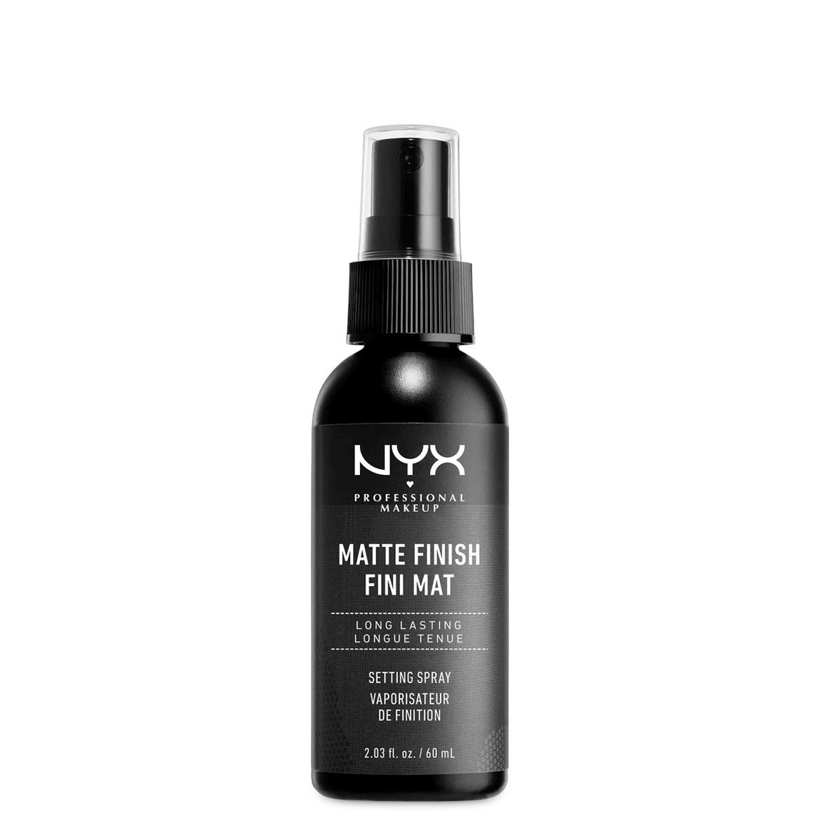 NYX Professional Makeup Makeup Setting Spray - Matte alternative view 1 - product swatch.
