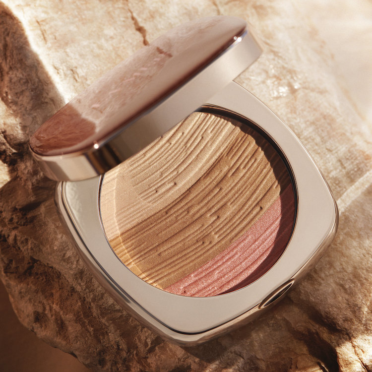 Alternate product image for The Bronzing Powder shown with the description.