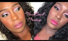 Flash Back Friday Pink Friday Makeup Look