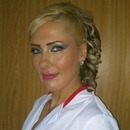 evening make up and hairdo