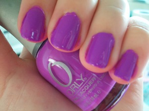 Orly Frolic Nail Polish  To read my review of the polish please visit my blog:  www.mazmakeup.blogspot.com