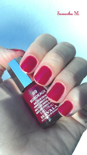 Love this red!