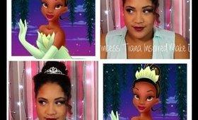 Princess Tiana Inspired Make-Up ♡ Mimi La Tigresse