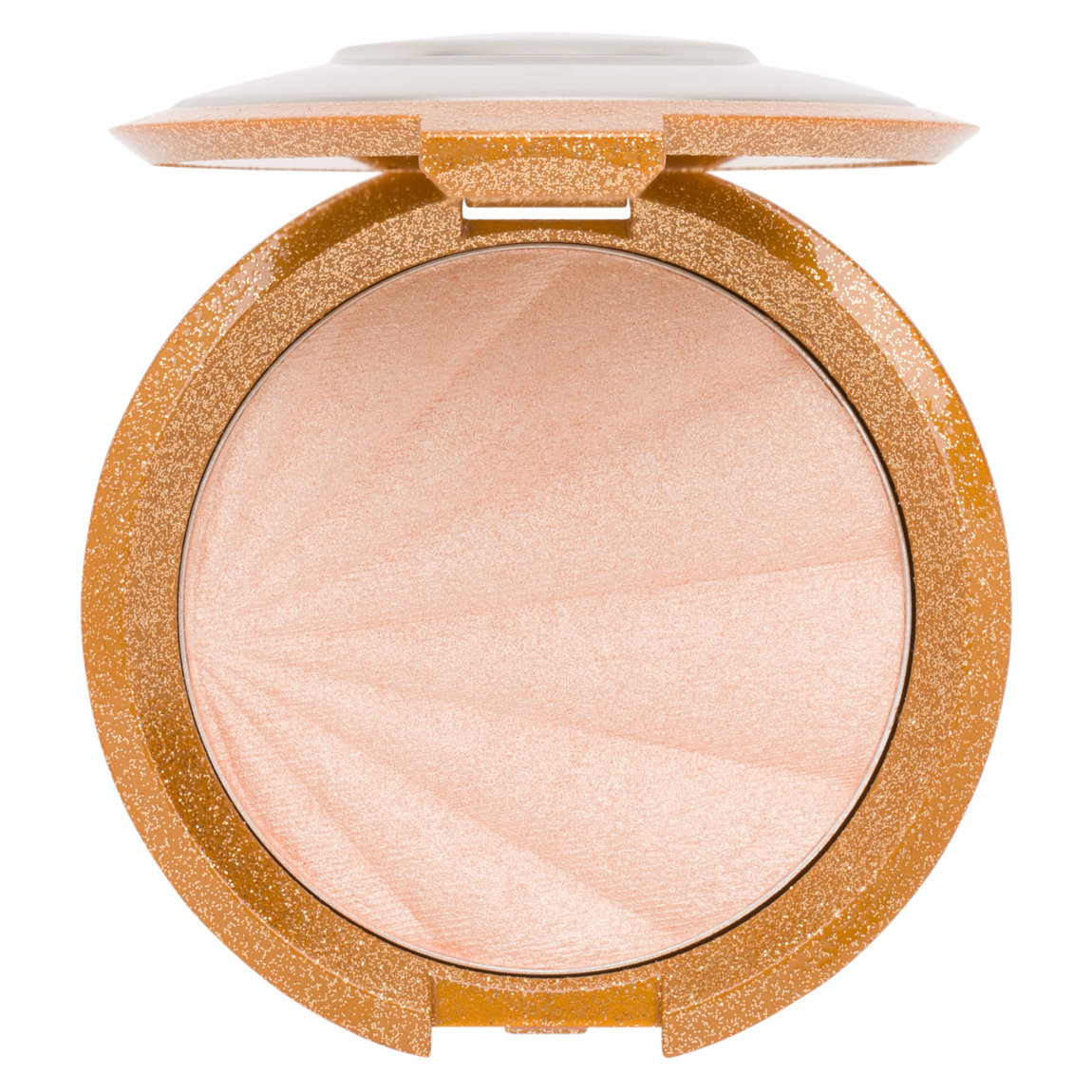 BECCA Collector's Edition: Shimmering Skin Perfector Pressed Highlighter Champagne Pop product smear.