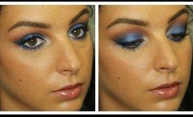 Blue Me Away Makeup Tutorial ♥