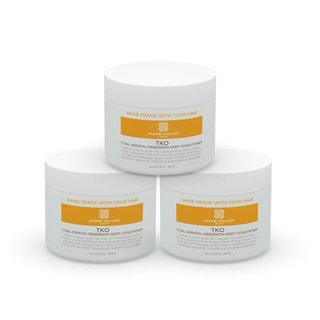 Andre Walker Hair Total Keratin Obsession Deep Conditioning Treatment 3 Jars