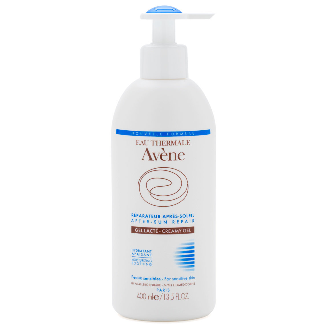 Eau Thermale Avène After-Sun Repair Creamy Gel 400 ml product swatch.