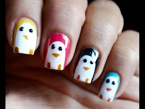 Penguin Nail Art Designs How To With Nails Art Nail