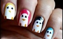 Penguin Nail Art Designs How To With Nails Art  Nail Designs Nail Art Cute Beginners Polish