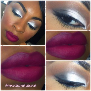 Follow me on Instagram to see what I used for this look and other makeup pics @muashaleena