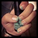 aquadelic sparkle manicure