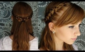 Braided Summer Updo ♥ Heat Free and Product Free