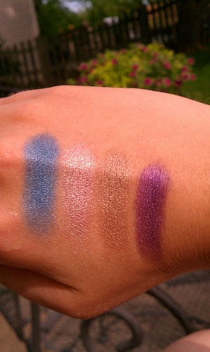 Urban Decay BOS 3: Radium, Snatch, Suspect, Psychedelic Sister