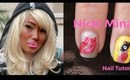 "Nicki Minaj ""Right By My Side"" Inspired Nail Tutorial and Giveaway!"
