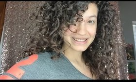 Curly hair experiment: applying curly hair products in the shower