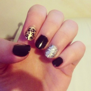Leopard and glitter