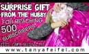 Surprise Gift from my Hubby for Reaching 500 Subscribers!! | OMG!! | Tanya Feifel-Rhodes
