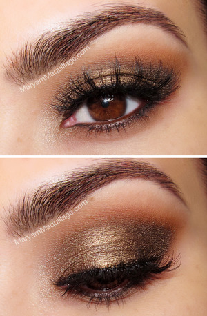 using both Naked palettes. How-to: http://www.maryammaquillage.com/2013/01/heroine-chic-naked-palettes.html