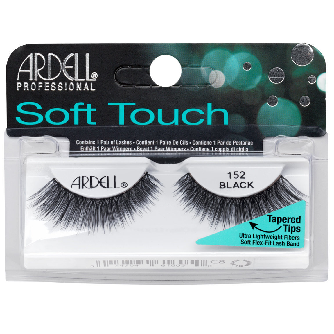 Ardell Soft Touch Lashes 152 Black alternative view 1.