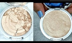 How to Fix Broken Powdered Makeup Using Rubbing Alcohol   Easy & Simple   Manisha Moments