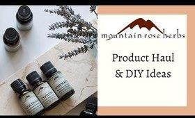 Mountain Rose Herbs Haul