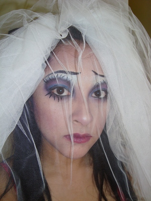 Corpse Bride inspired.