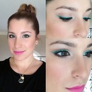 Green Liner, Pink Lips
