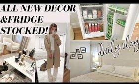 Updated HOUSE TOUR & What's In My Fridges! Lauren Elizabeth