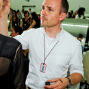 Creative director of makeup Peter Philips.