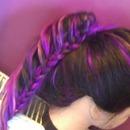braided pony tail
