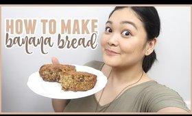 EASY & Delicious Banana Bread Recipe (with a twist 😉)