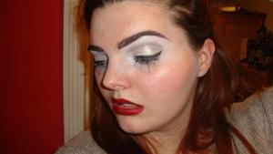 Snowflake Makeup