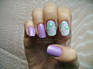 More photos here: http://roxy-ch.blogspot.ro/2013/03/lilac-purple-with-mint-flowers.html