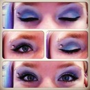 Eye Shadow Purples and Blues