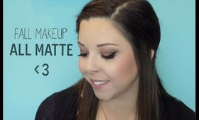 All Matte Makeup for FALL