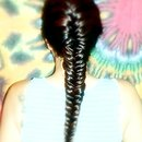 my hair twist on fishtail
