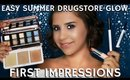 Easy Summer Glow Drugstore Full Face & Body Makeup Tutorial | mathias4makeup