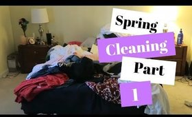 💐Spring Cleaning💐|Master Bedroom|Part 1