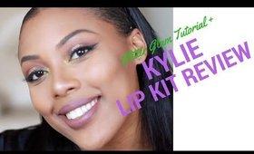 Glitter Glam Tutorial + Kylie Lip Kit Review