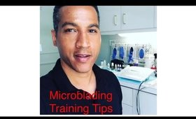Microblading Training: Tips and Advise
