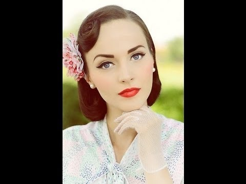 Classic Vintage Inspired Makeup Tutorial