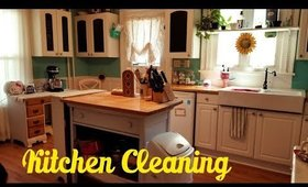 Kitchen Cleaning Motivation - Clean with Me