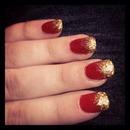 Christmassy nails! 🎄